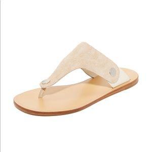 Rag & Bone suede sandals worn twice.